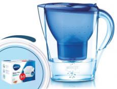 Brita Marella cool modrá 2,4l + 4 filtry Maxtra
